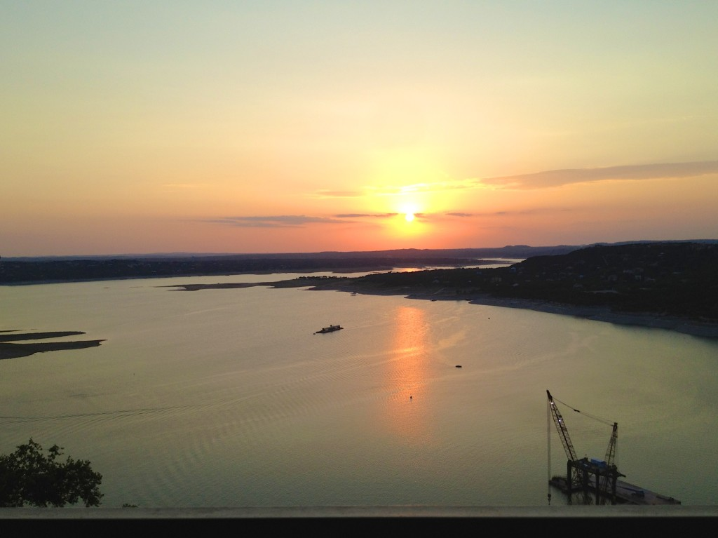 Sunset at the Oasis, Lake Travis