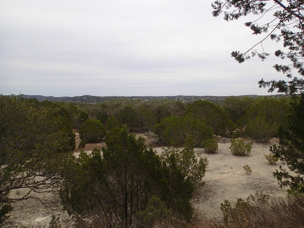 View at the top of Wookie way at Pace Bend