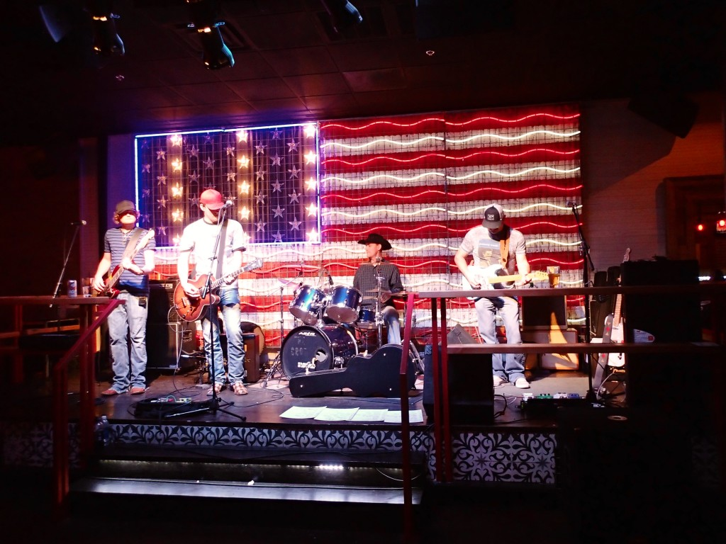 Country Band at Bourbon girl