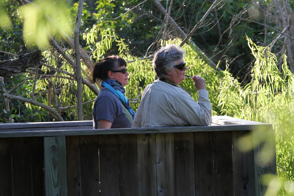 Intrepid Birders Jennifer and Valarie!