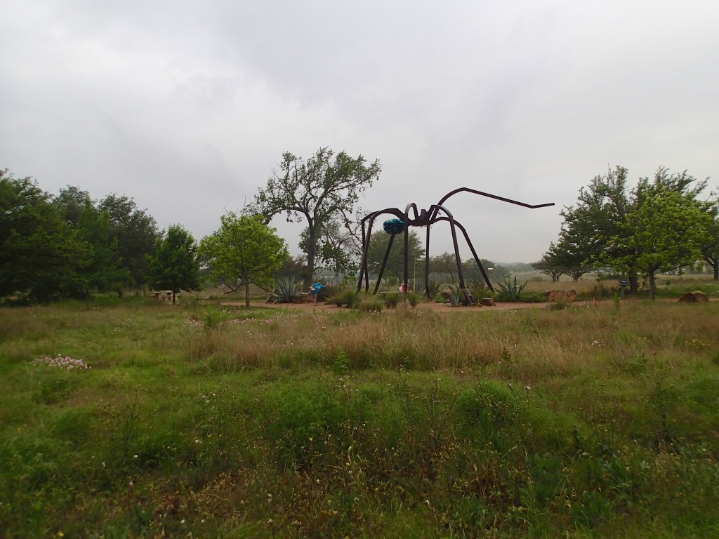Giant Spider and Friend!