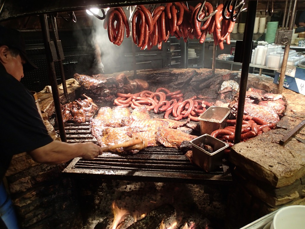 The Pit Smoker at the Salt Lick