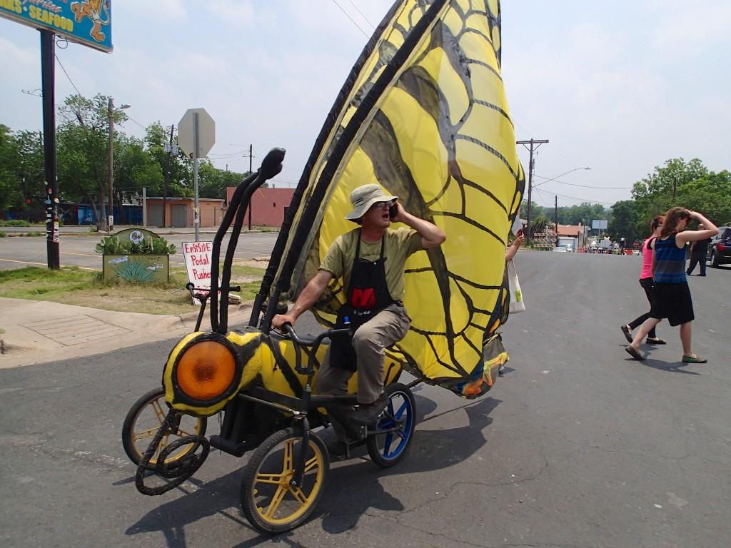 Monarch Butterfly bike