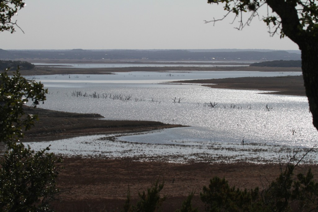 The Lake showing the impact of drought
