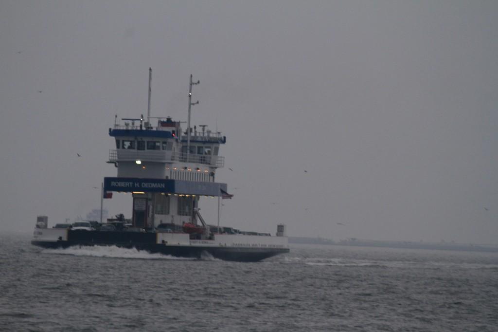 Ferry Making the return trip