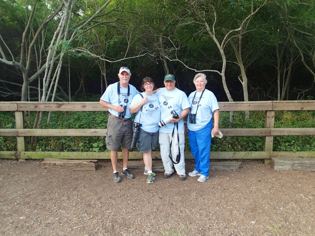 Scott Free Family Birders..in uniform