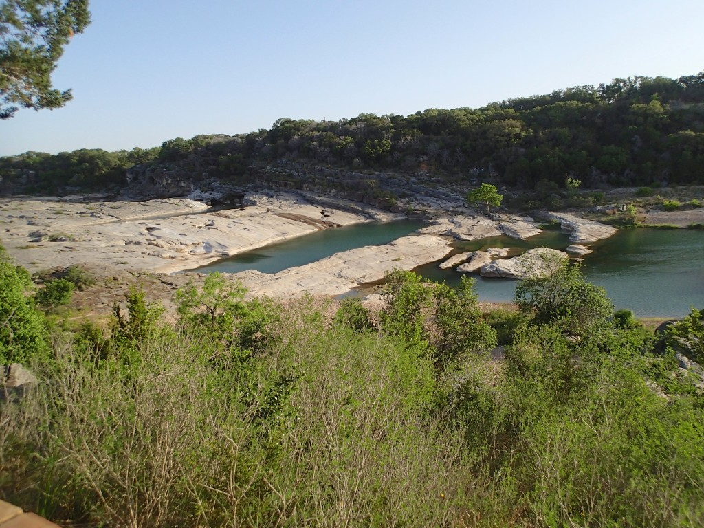 Limestone formations at Pedernales falls.. part of the Edwards uplift