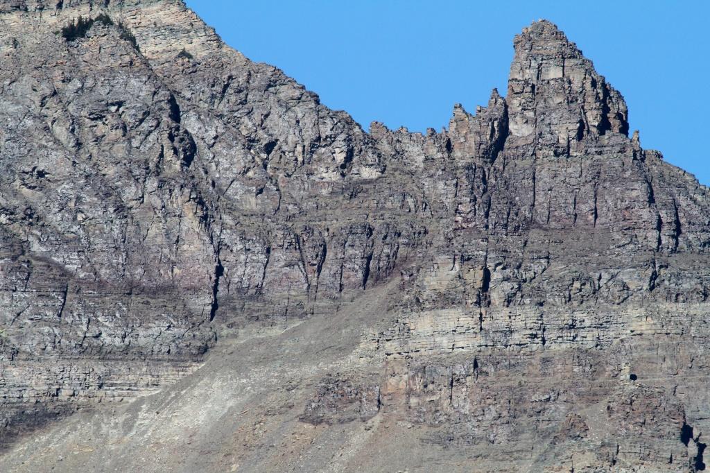 Huge Rocks tower above us