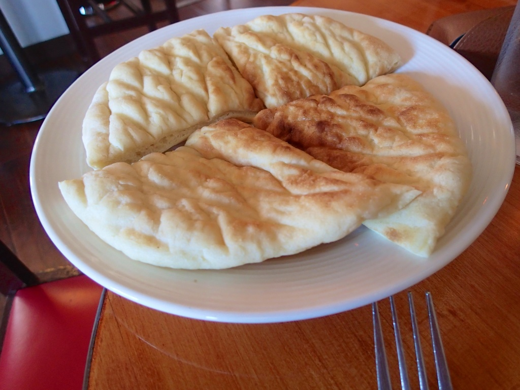 The strange and Chewy bread at the Balkan Cafe Who knew Serbian food was good!