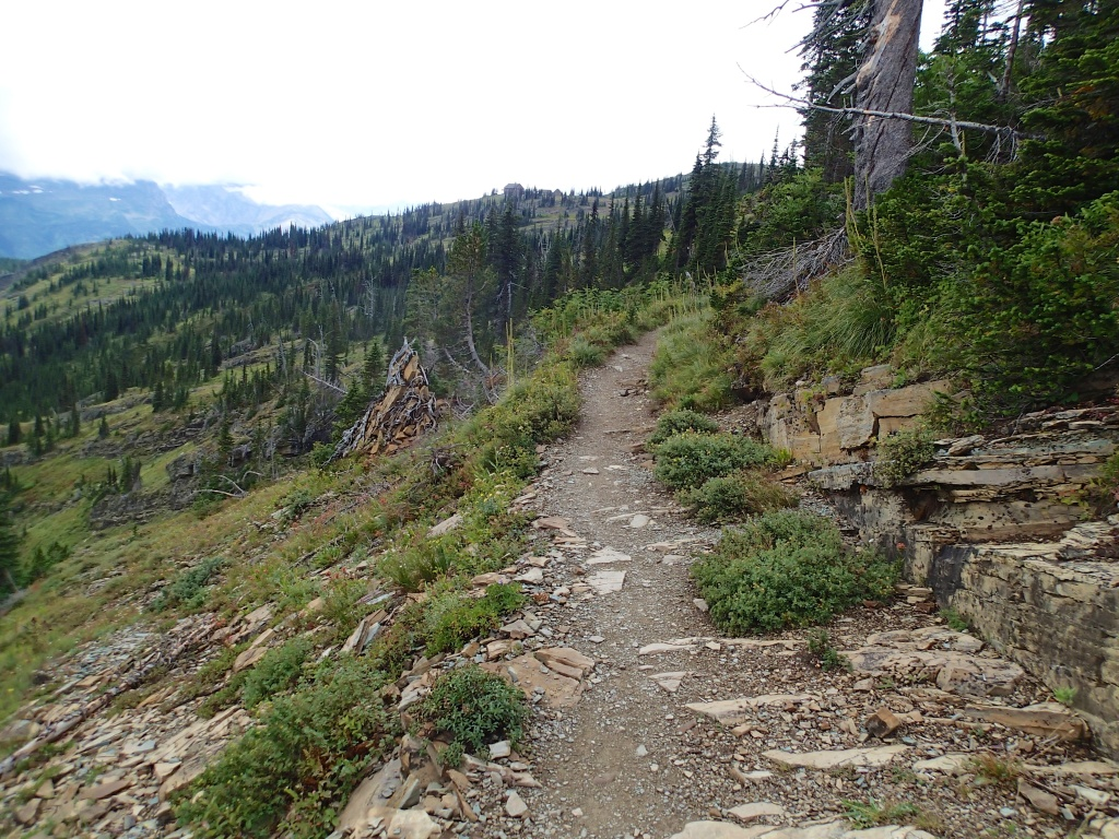 Trail up to Granite Park
