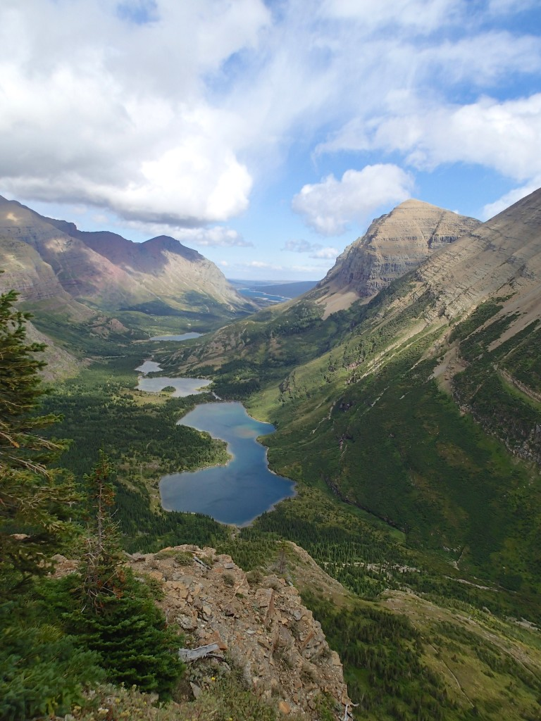 The Swiftcurrent valley