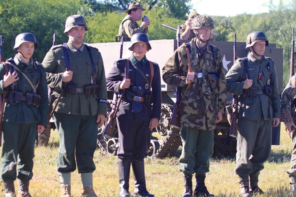 Rag tag German Troops...
