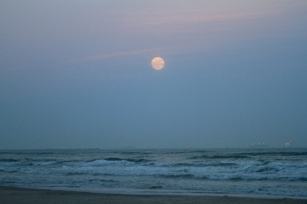 Full Moon Rises