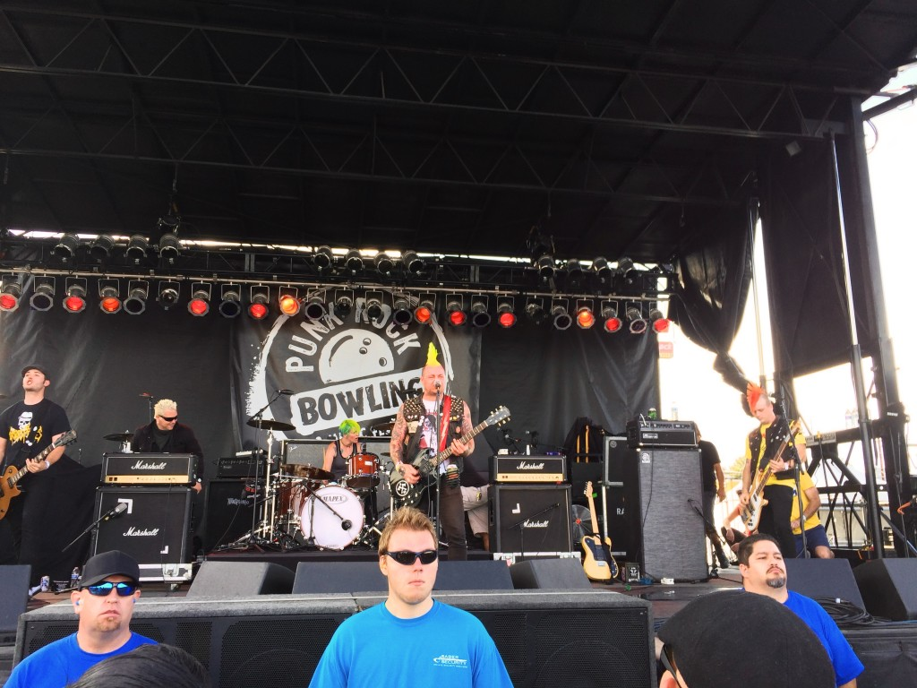 Sniper 66 at the Punk Rock bowling Festival
