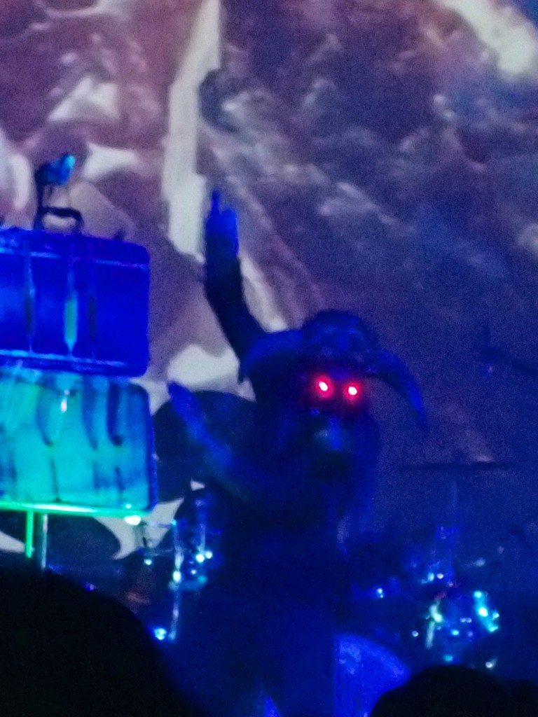 Theatrics in full effect at Skinny Puppy