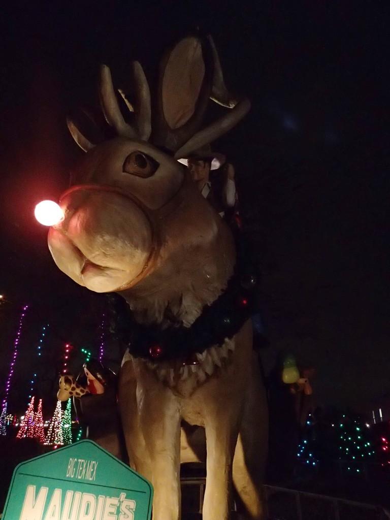 Riding Rudolf the Jackalope