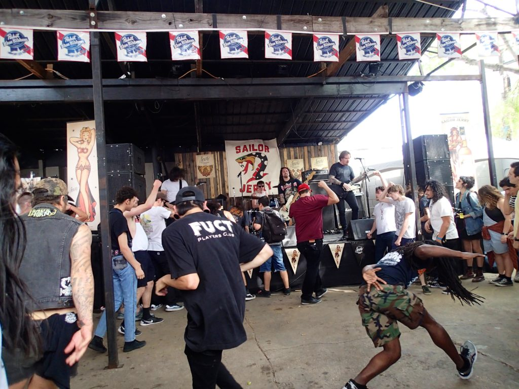 The Pit Goes off..at the Power trip Show