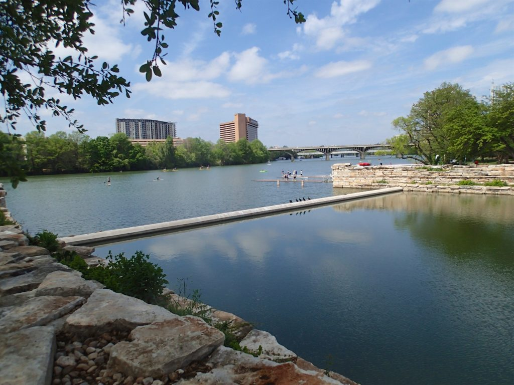 Waller Creek Where it meets town lake