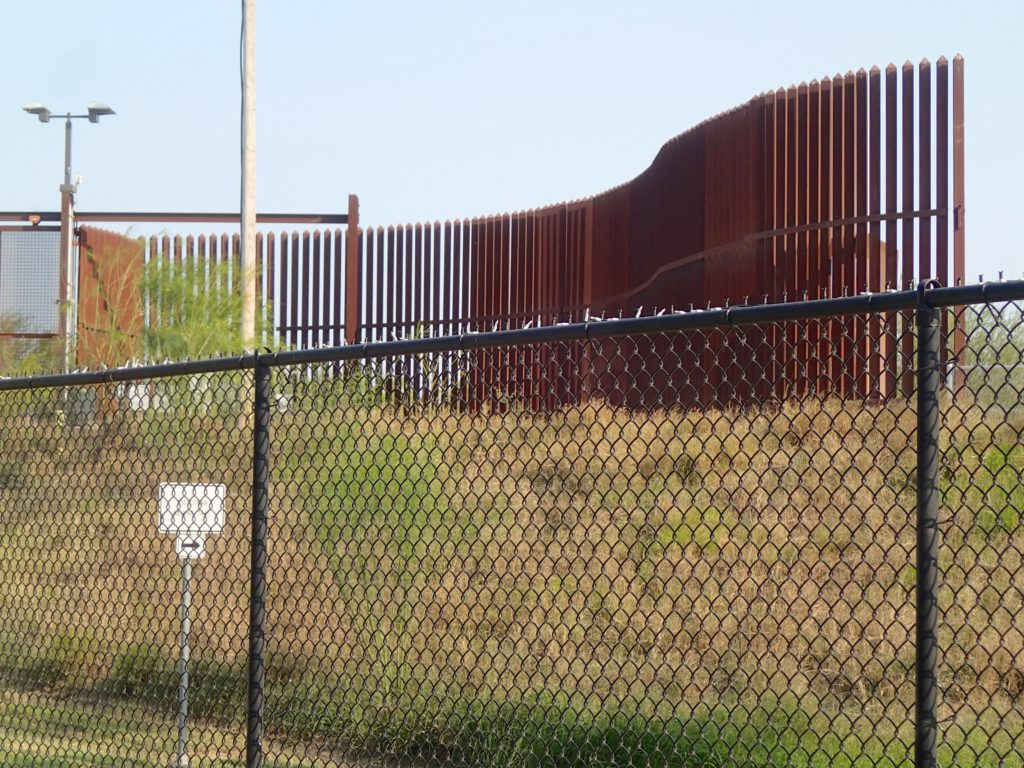 The Border Fence in Hildago
